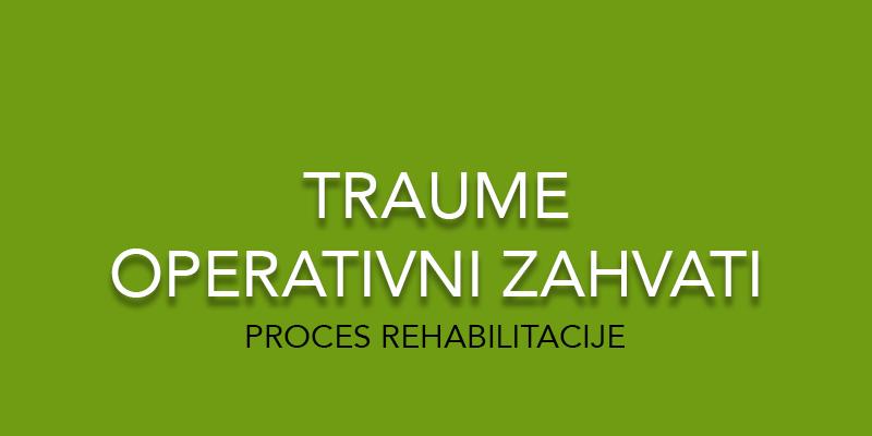 Fizio GP - fizikalna terapija - traume i operativni zahvati